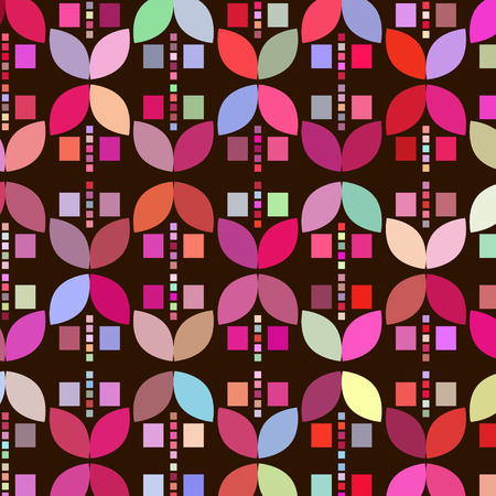 Geometric odd colorful  abstract background Stock Photo