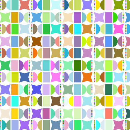 Geometric abstract vector design image