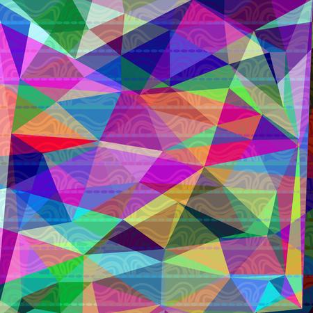 Abstract geometric modern vector illustartion Illustration
