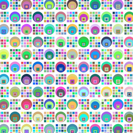 Abstract geometric vector simple retro background for design Illustration