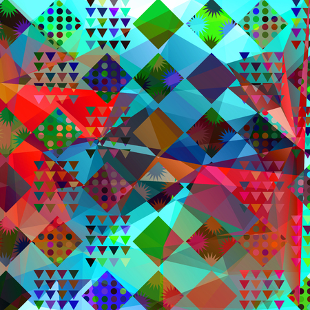 Abstract modern geometric pattern.