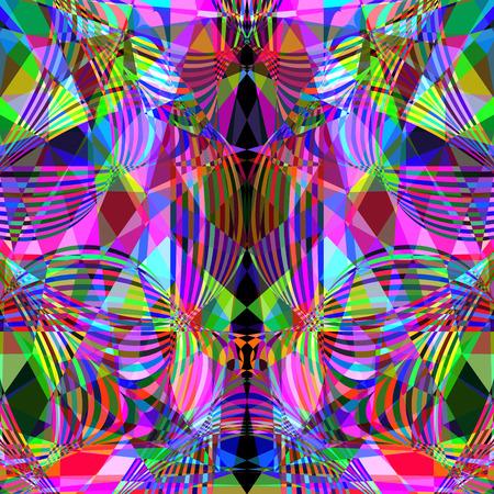 Cute   creative geometric background