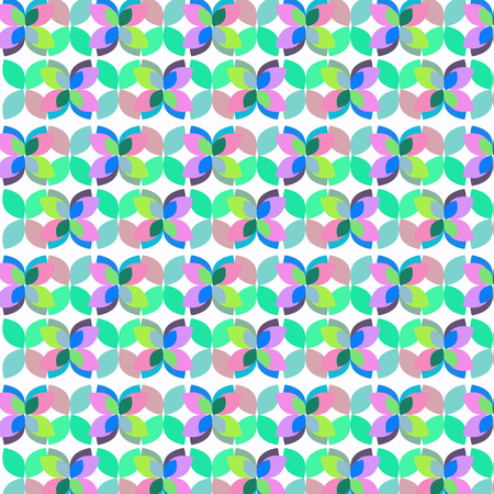 Abstract simple geometric vector background. Çizim