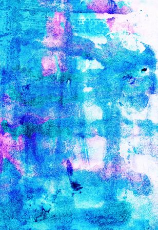 Watercolor abstract  vivid  wash drawing  background  for design