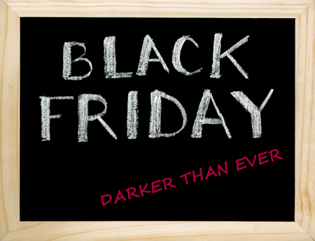Black Friday. Darker Than Ever. Reklamní fotografie