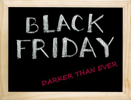 Black Friday. Darker Than Ever. Banque d'images