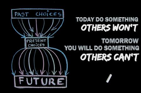 Inspirational message. Be active. Achieve Reklamní fotografie