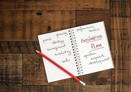 Business Plan Concept image Banque d'images