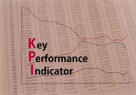 Acronym KPI  Key Performance Indicator. concept