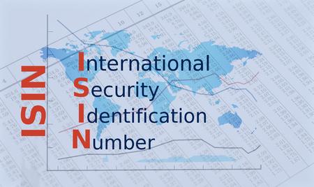Acronym ISIN - International Security Identification Number