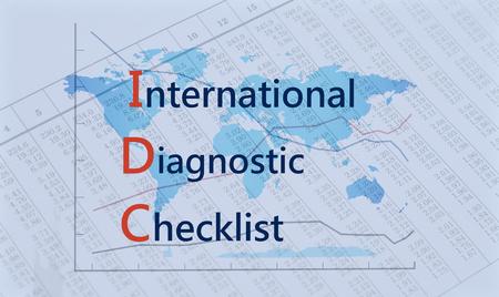 Acronym IDC - International Diagnostic Checklist