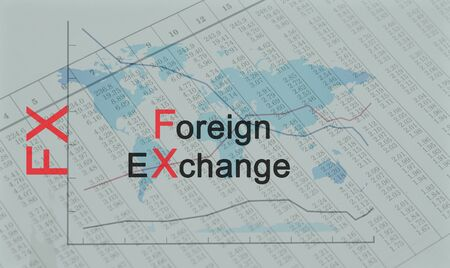 Acronym FX - Foreign Exchange Banque d'images