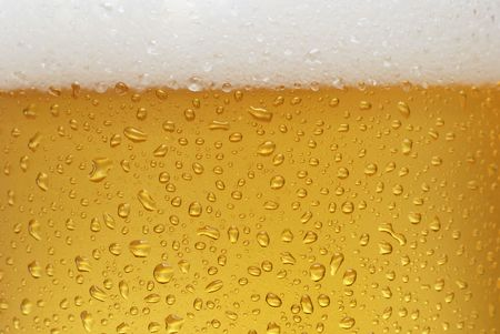 clear and cold beer