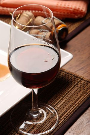 glass of red wine Stock Photo - 4842683