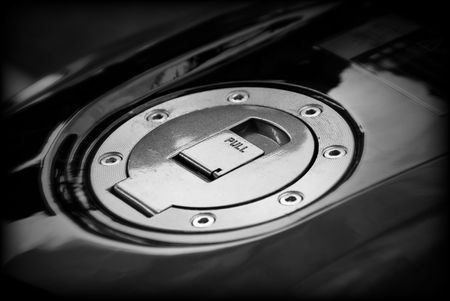 cover the gas tank of motor vehicles Stock Photo - 5084166