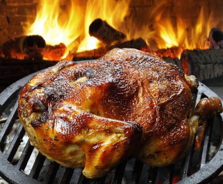 chicken roast: pollo asado