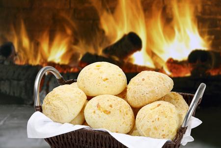 Cheese bread Standard-Bild