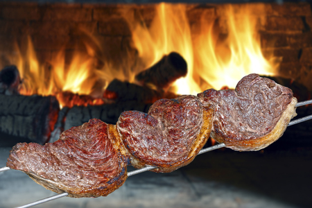 Picanha, traditional Brazilian barbecue.