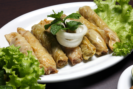 rolled: rolled cabbage