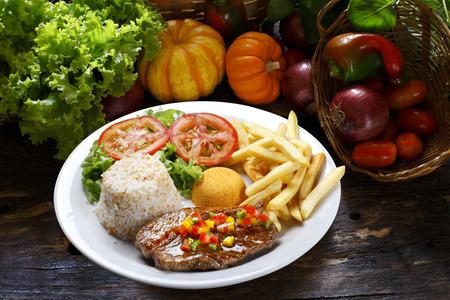 drover: picanha potato with rice