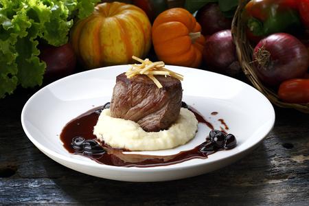 haute cuisine Reklamní fotografie