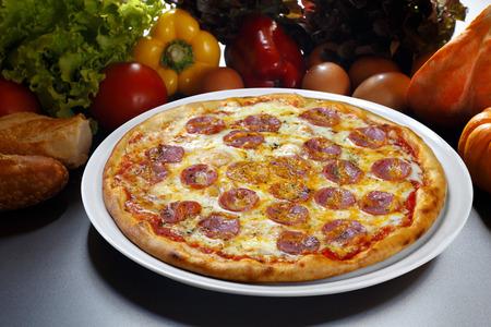 pepperoni: Pizza  pepperoni