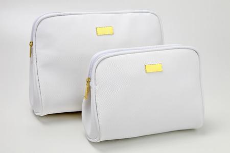 necessaire bag for miscellaneous use, bathroom, travel, toilet, hotel, school supplies Banque d'images - 104935140
