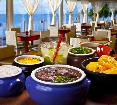 Brazilian Feijoada Food Stock Photo