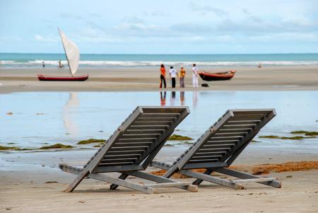Jericoacoara is a virgin beach hidden behind the dunes of the west coast of Jijoca de Jericoacoara, Ceará, Brazil