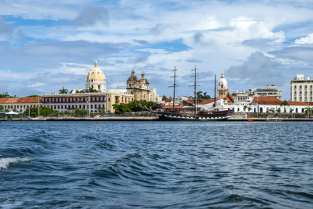 View of Cartagena de Indias, Colombia Stock Photo