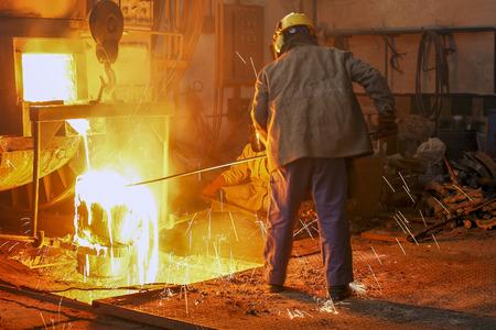 Eisen- und Stahlindustrie