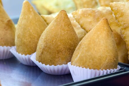 Coxinha of chicken, Brazilian snack