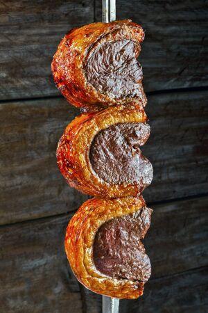 Picanha, traditioneller brasilianischer Rindfleischschnitt