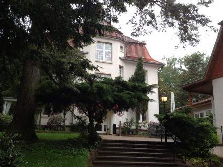hunted: Hunted casa en alemania Foto de archivo