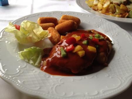 comida alemana: German Food fama Foto de archivo