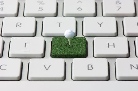 keyboard and Golf