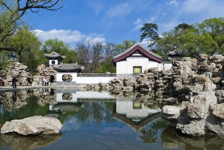 Chengde Imperial Summer Villa Stock Photo