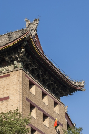 the ancient city wall of xi an photo