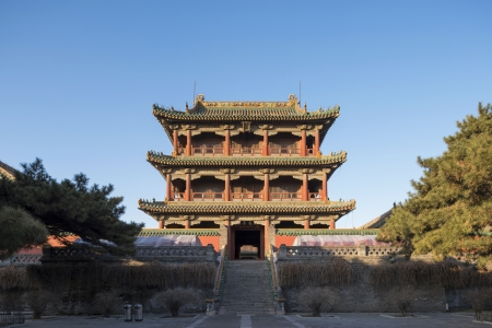 chinese ancient temple Stock Photo