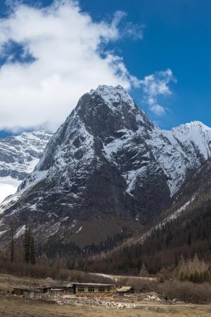 four peaks wilderness: snow mountain