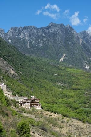 Jiaju Tibetan folk house