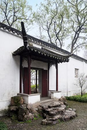 building entrance: Ancient architectural building entrance