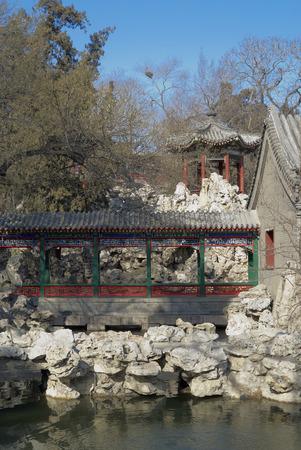 View of Beihai park of Beijing