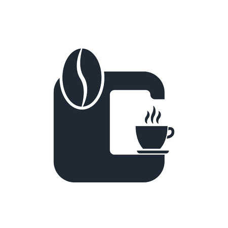 coffee machine icon Illustration