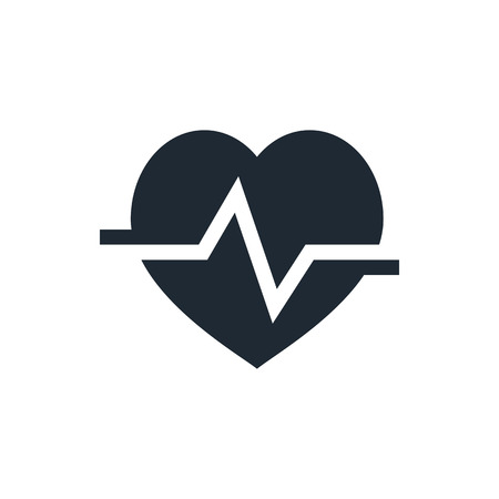 love life: heart cardiology icon