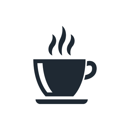 cups silhouette: coffe cup icon