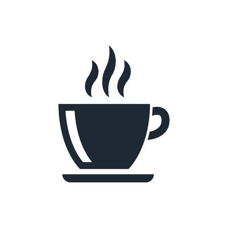 tazas de cafe: icono de la taza de café