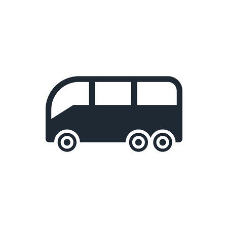 bus sign icon 向量圖像