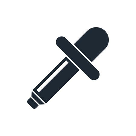 eyedropper: eyedropper icon Illustration