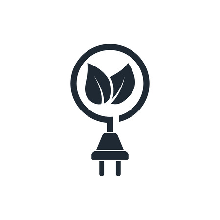 eco power icon